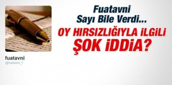 Fuatavni: AKP 7 Haziran'da 3 Milyon 480 Bin Oy Çalacak