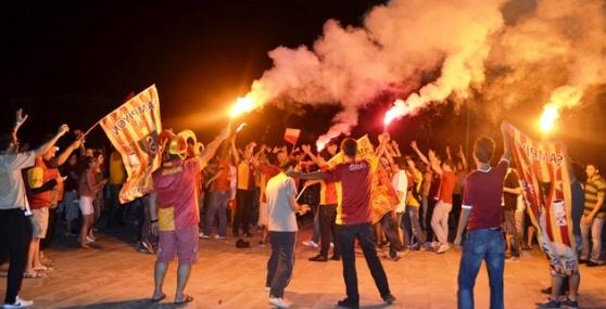 Galatasarayın Şampiyonluğu Anamur'da Coçkuyla Kutlandı