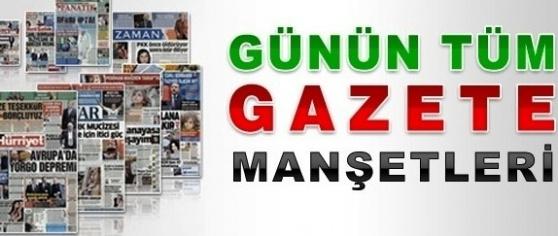 Gazete Manşetleri Mersin Portal'da
