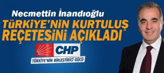 """Genel Seçimler """"Türkiye'nin Kurtuluş Reçetesi Olacaktır"""""""