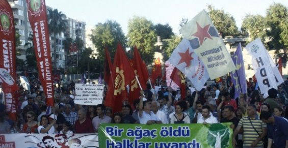 Gezi Olayları Mersin'de Anıldı