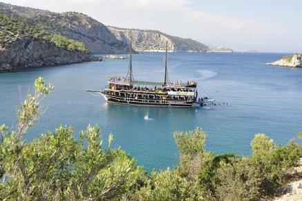 Gezi Tekneleri Taşucu'nun Tanıtımına Büyük Katkı Sağlıyor