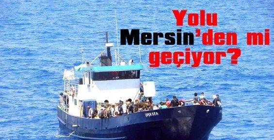 Göçmen Şebekesi Haritasında Mersin'de Var