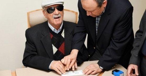 Görme Engelliler İçin İlk Kez 'Erişilebilir Oy Pusulası' Mersin'de Hazırlandı