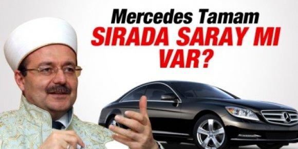 Görmez'e Mercedes'ten Sonra Şimdi de Saray İddiası
