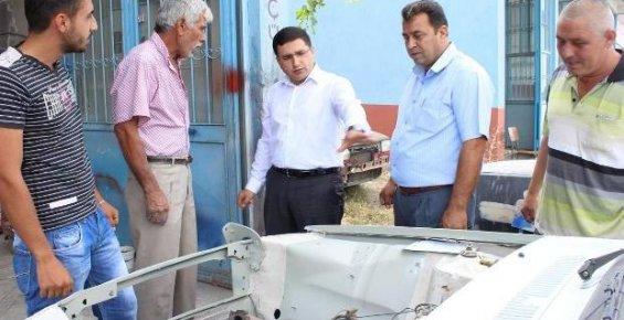 Gülnar Kaymakamı Pendik'ten Esnaf Ziyareti