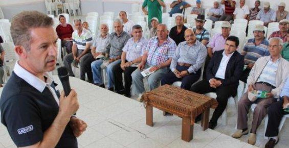 Gülnar'da Çiftçilere Konferans
