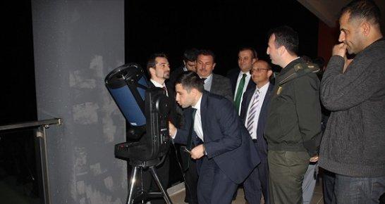 Gülnar'da Öğrencilere Astronomi Eğitimi