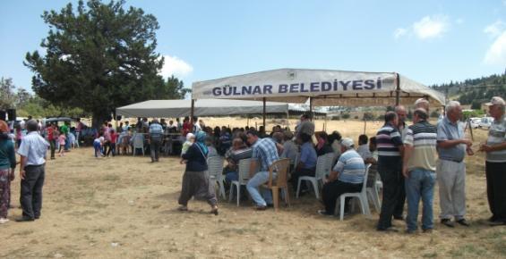 Gülnarlılar, Yedi Yatırlar Türbesi Anma Etkinlikleri'nde Buluştu