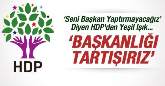 HDP'den U Dönüşü: Başkanlığı Tartışırız