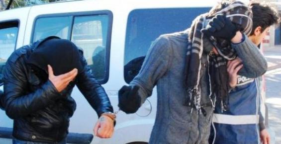 Hırsızlık Şüphelisi, Güvenlik Kamerası Görüntülerinden Yakalandı