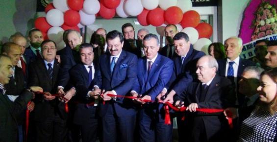 Hisarcıklıoğlu, Silifke Ticaret ve Sanayi Odası Yeni Binasını Hizmete Açtı