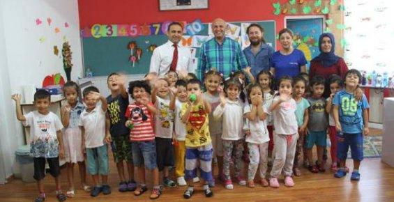 İlçe Milli Eğitim Müdürü Kalaycı Okulları Gezdi