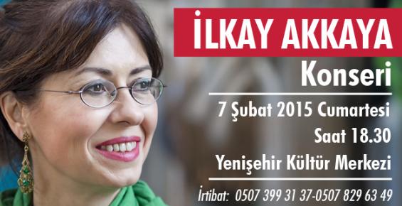 İlkay Akkaya 7 Şubatta Mersin'de Konser Verecek
