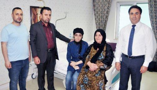 Iraklı Genç Kız Şifayı Türkiye'de Buldu