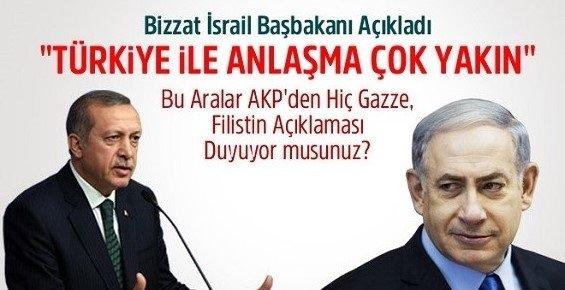 İsrail Başbakanı: Türkiye ile Uzlaşma Çok Yakın