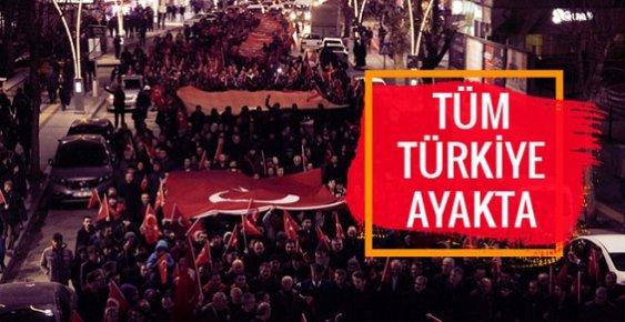 İstanbul Patlamaları Tüm Türkiye'yi Sokağa Döktü