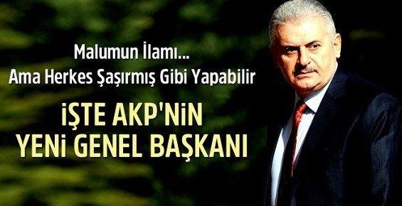 İşte AKP'nin Yeni Genel Başkan Adayı: BİNALİ YILDIRIM
