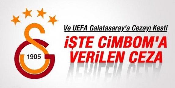 İşte UEFA'nın Galatasaray'a Verdiği Ceza