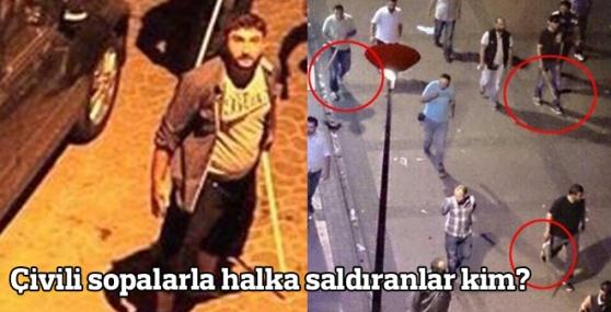 İzmir'de Çivili Sopalarla Halka Saldıranlar Kimler?