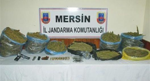 Jandarmadan Turistik Beldede Uyuşturucu Operasyonu