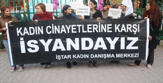 Kadın Cinayeti Protesto Edildi