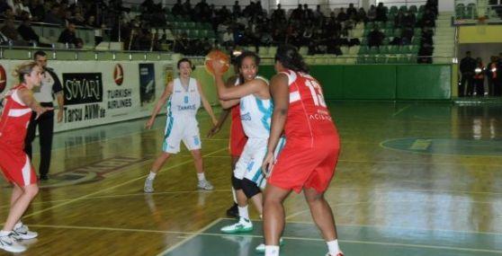 Kadınlar Basketbol 1. Liginde Tarsus Belediyespor Botaşspor Yendi
