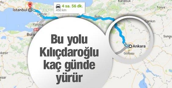 Kemal Kılıçdaroğlu'nun Yürüyüşü Kaç Gün Sürecek?