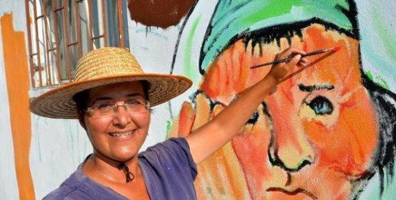 Kentin Duvarları Sanatla Hayat Buluyor