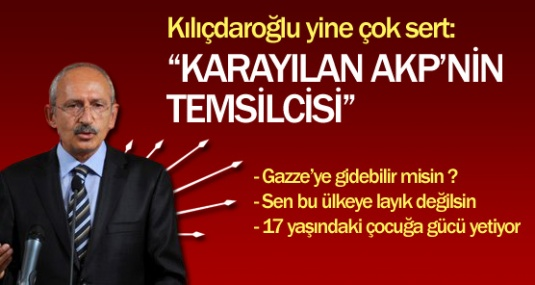 """Kılıçdaroğlu: """"Karayılan AKP'nin Temsilcisi"""""""