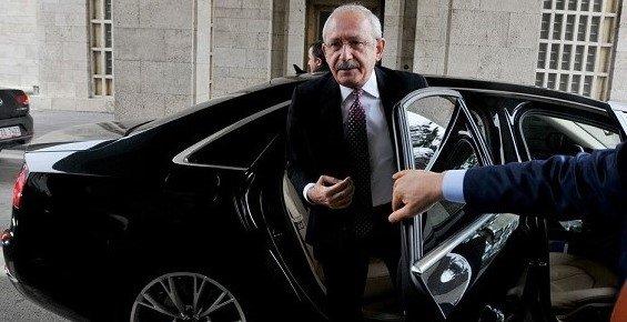 Kılıçdaroğlu'na 4. 5 Tonluk Zırhlı Araç Tahsis Edildi