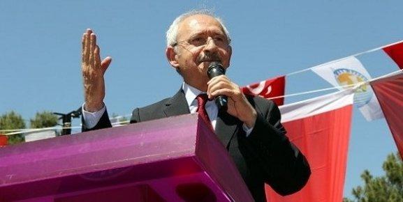 Kılıçdaroğlu'ndan Mersin'de Davutoğluna Gönderme