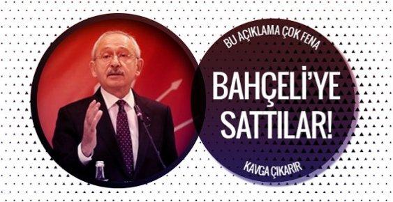 Kılıçdaroğlu'ndan Olay MHP Açıklaması Bahçeli'ye Sattılar!