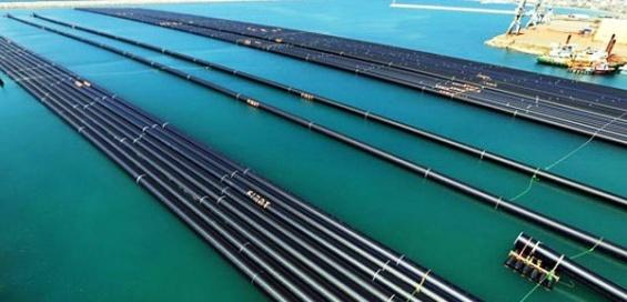 KKTC'ye Su Götürecek Boruların Yapımı Bitme Aşamasında