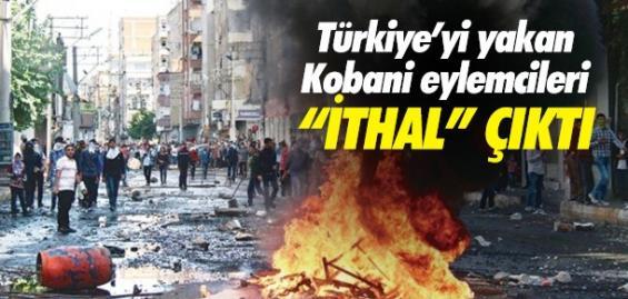 Kobani Eylemlerini Suriyeliler Karıştırmış...