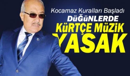 Kocamaz'dan Kürtçe Müzik Yasağı İddiası