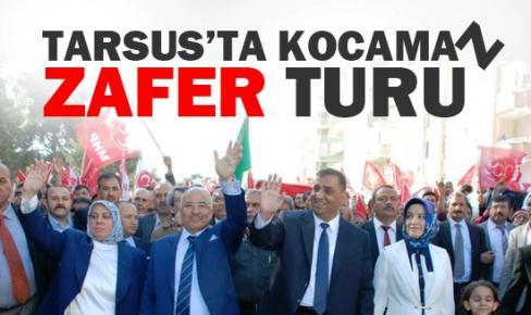 Kocamaz'ın Tarsus'ta Zafer Turu