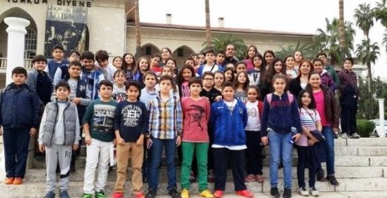 Kolej Vakfı Öğrencileri Mersin'i Gezdi