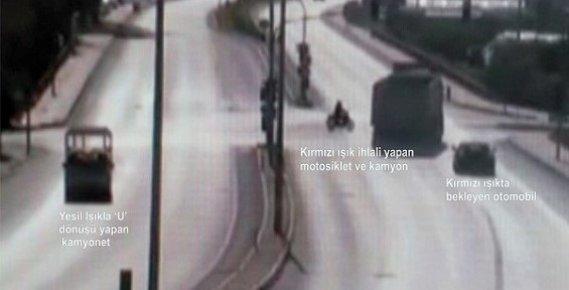 Kural İhlalleri İle Gelen Kazalar Mersin'de Mobese Kameralarına Takıldı