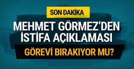 Mehmet Görmez'den Ayrılacak mısınız Sorusuna Cevap