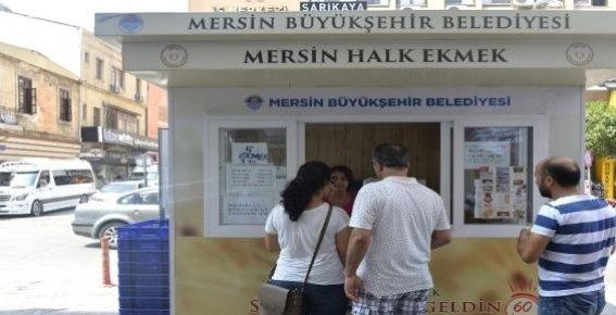 Mer-ek  Mersin'de 55 Büfe İle Üretimini Sürdürüyor