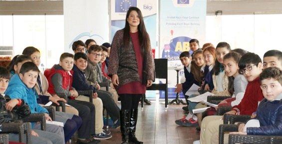 Mersin AB Bilgi Merkezi, Çocuklara Haklarını Anlattı