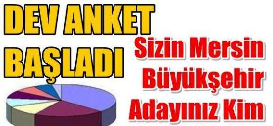 Mersin Büyükşehir Belediye Başkan Adayınız Kim?