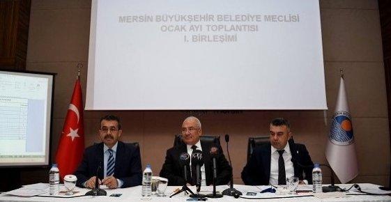 Mersin Büyükşehir Belediye Meclisinde Ödenek Tartışması