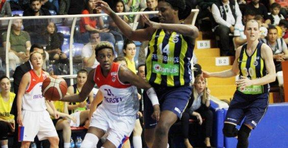 Mersin Büyükşehir Belediyesi: 64 - Fenerbahçe: 102