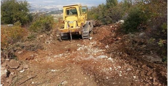 Mersin Büyükşehir Belediyesi Gülnar'ın Yollarını Yapıyor