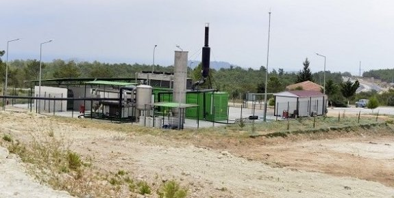 Mersin Büyükşehir Belediyesi Silifke'de Çöpten Elektrik Üretmeye Başladı