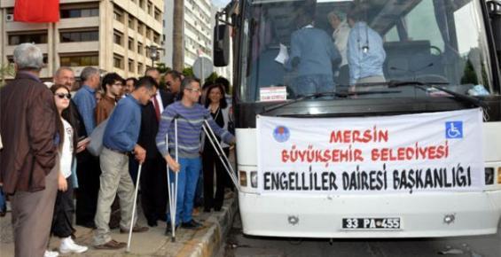 Mersin Büyükşehir'den Engellilere Çanakkale Gezisi