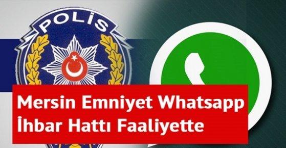 Mersin Emniyet Müdürlüğü'nden İstismara Karşı Whatsapp İhbar Hattı