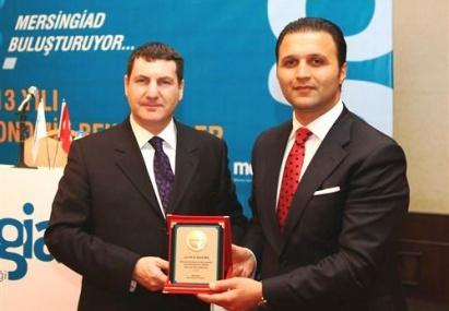 Mersin Giad, Prof. Alkin'i İş Dünyasıyla Buluşturdu